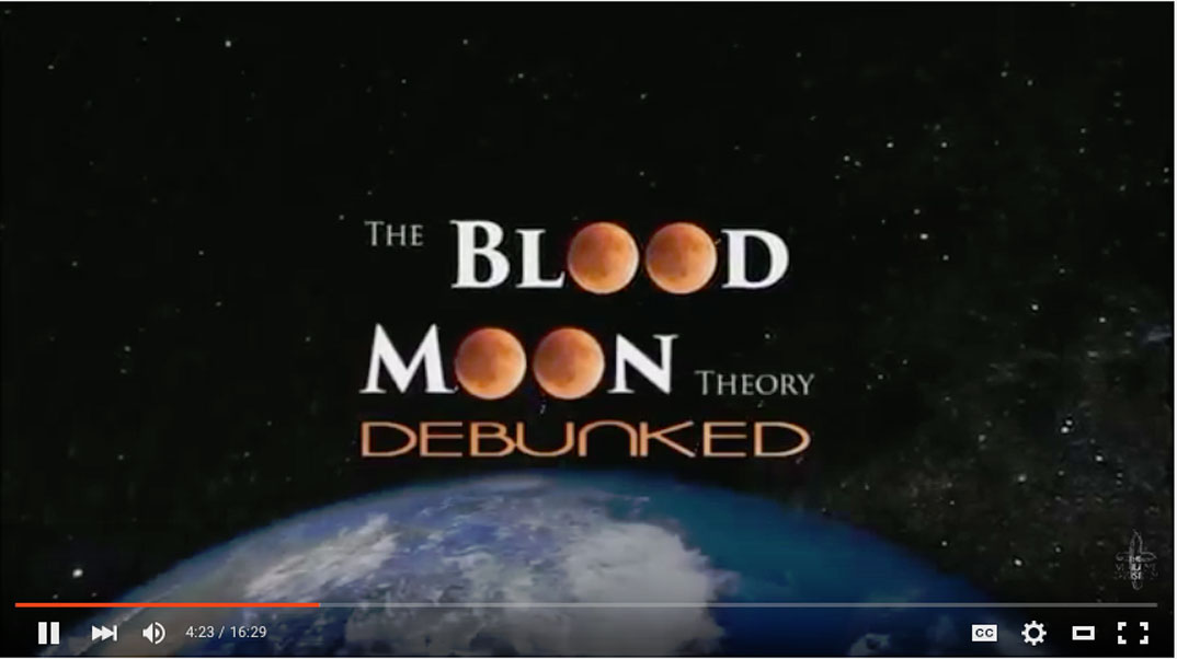 The Blood Moons Video Debunked