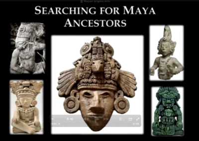 Searching for the Mayan Ancestors by Wayne May