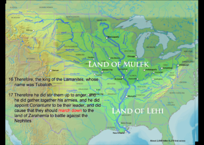 Recreating the Lost Nephite Map by Ryan Fisher – Part 1